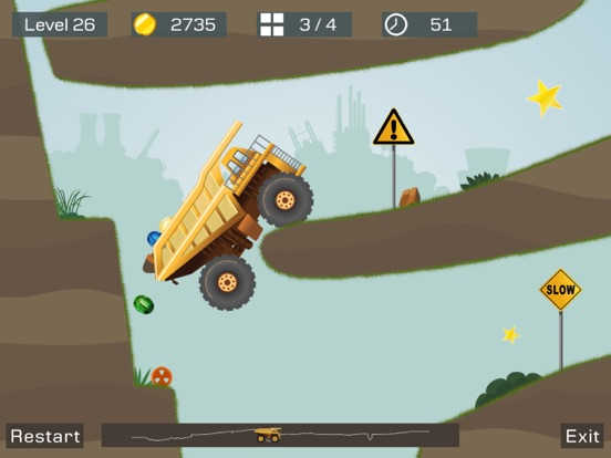 Screenshot #6 pour Big Truck -Mine Express Racing