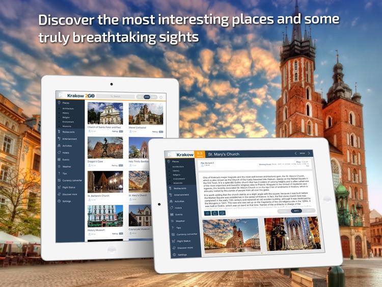Krakow Travel Guide & offline city map