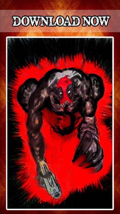 Superhero Unique Wallpapers for Deadpool Edition