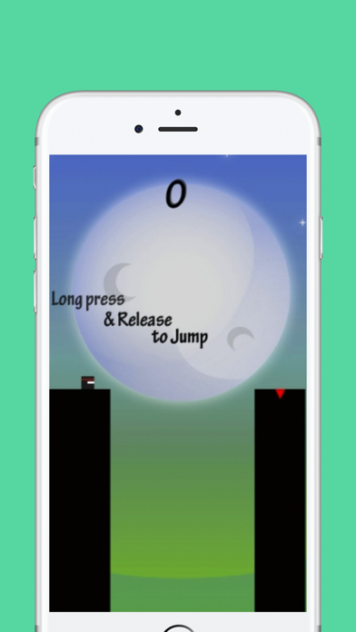 Retro Ninja Jump and Bounce Screenshot