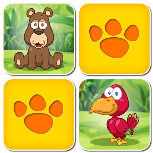 Animal Pairs: Free Matching Games for children