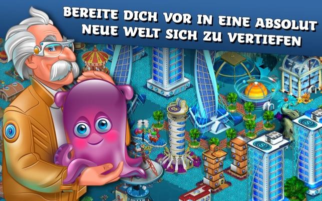 Aquapolis - Stadt Bauen Spiel Screenshot