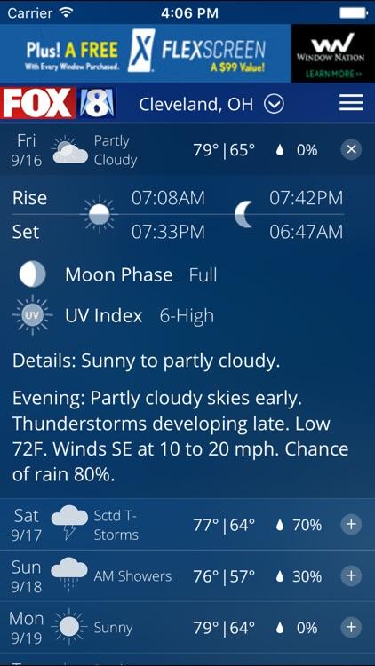 FOX8 Cleveland Weather screenshot-4
