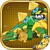 機械組み立てステゴサウルス:恐竜——ツイン知育玩具/組み立てるパズルの小さいゲーム