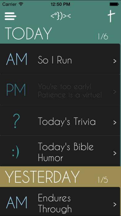 Daily Bible Devotion Screenshot