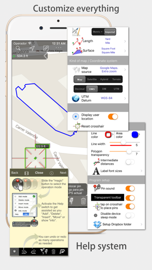 Measure Map - By Global DPI Screenshot