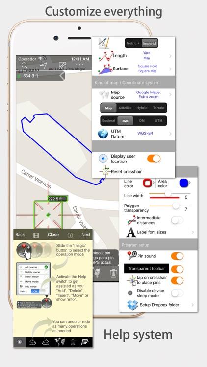 Measure Map - By Global DPI screenshot-4