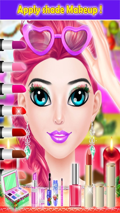Christmas Girls Party Makeup - Trendy Make Up Me