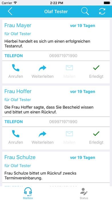 kommpet TelefonsekretariatScreenshot von 3