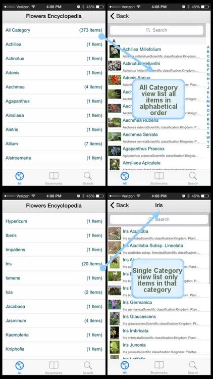 Flowers Encyclopedia Plus+ screenshot-3