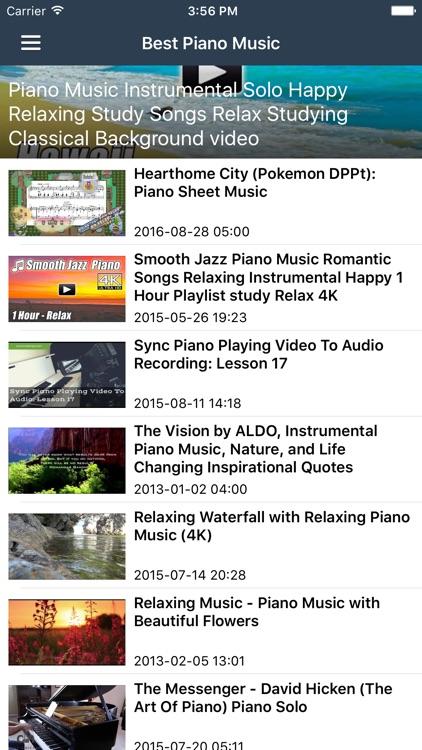 Relaxing pokemon piano