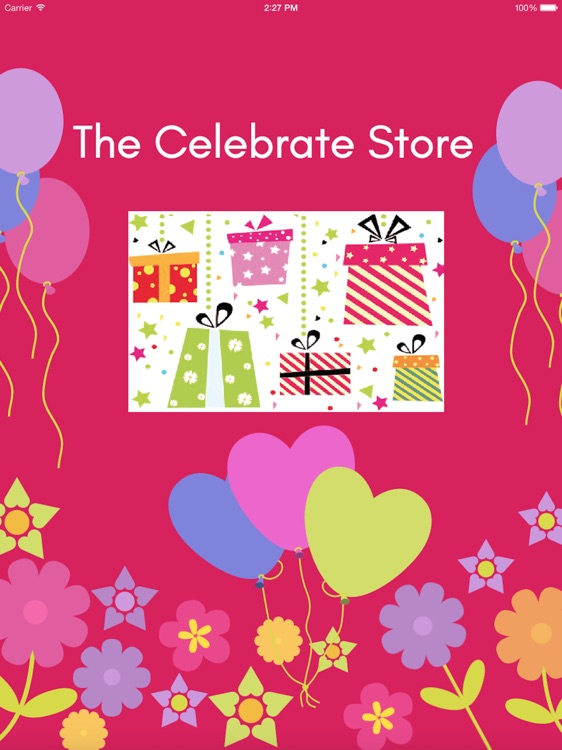 The Celebrate Store for iPad