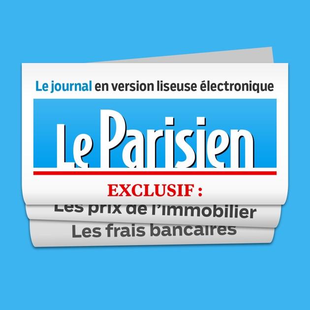 le journal le parisien dans l app store. Black Bedroom Furniture Sets. Home Design Ideas