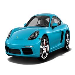 AutoEmoji - Vintage Porsche