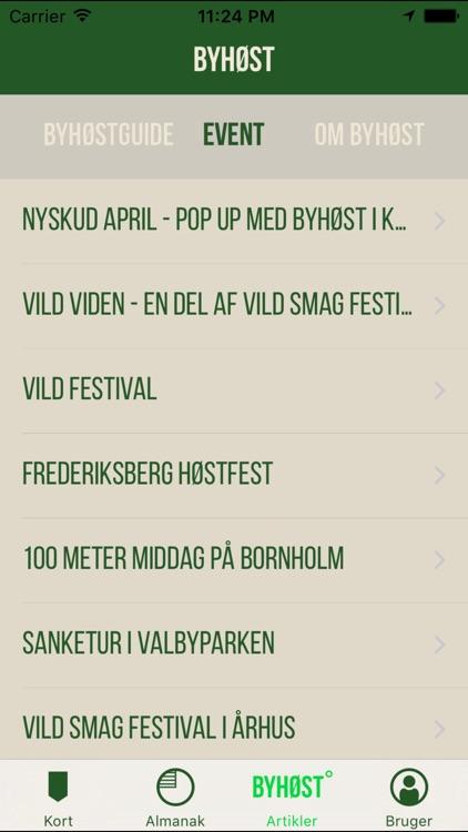 Byhøst - vild råvareguide screenshot-3