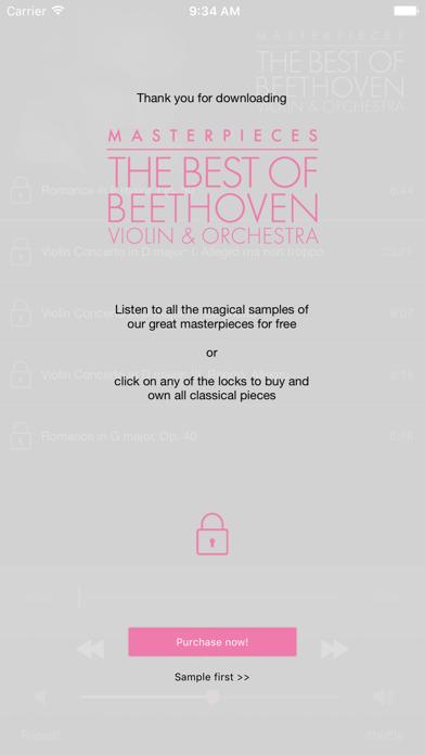 Beethoven: Violin&Orchestra screenshot two
