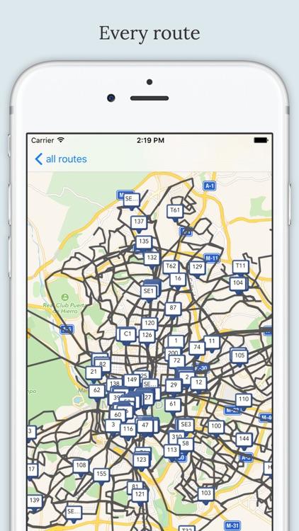 Madrid Public Transport screenshot-4