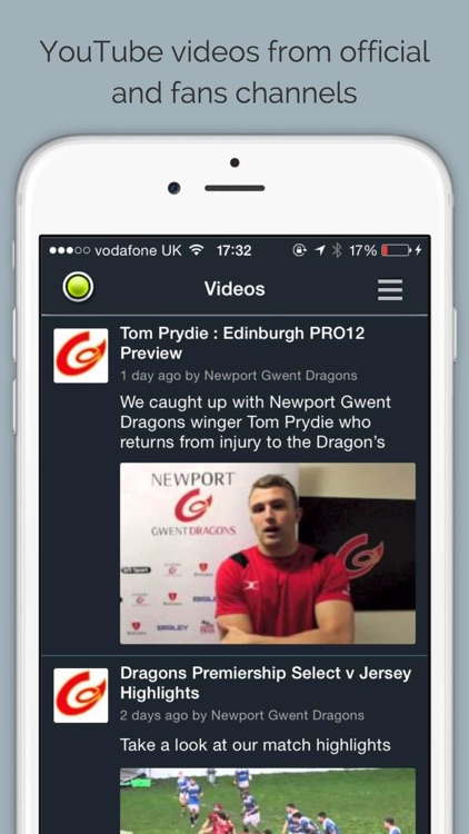 Dragons Rugby by Sport RightNow screenshot-4