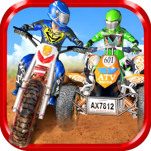 Dirt Bike Vs ATV - OffRoad Hill Climb Stunt Racing