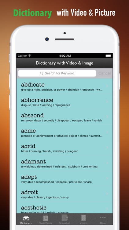 ASVAB Vocabulary-Courses and Flashcard screenshot-3