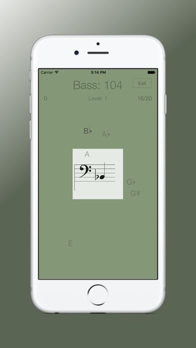 Sheet Music Trainer Bass screenshot1