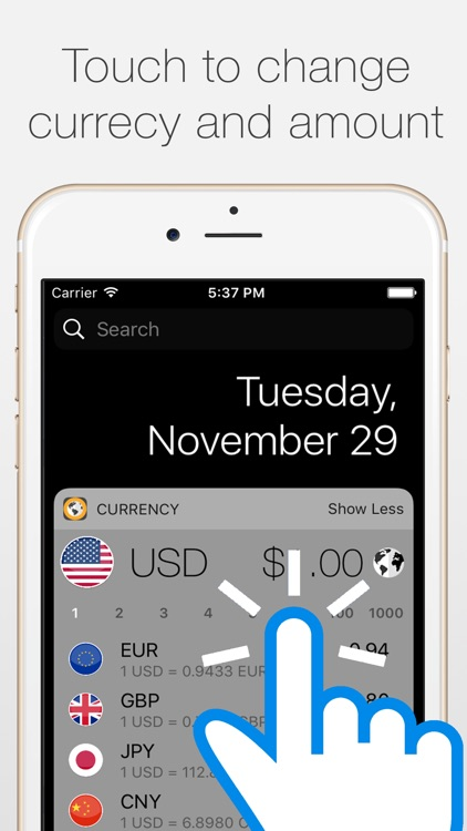 Currency Today - Global Currency Convertor Widget