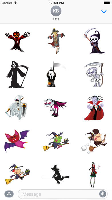 Halloween Monster Stickers