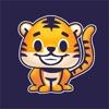 ラワイタイガー - 子供の公園のための赤ちゃんトラのステッカー - iPhoneアプリ