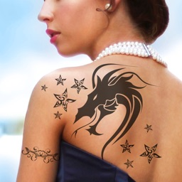 Tattoo Designs Photo Editor - Add Inked Sketch Effects to Your Photos with Body Art Maker