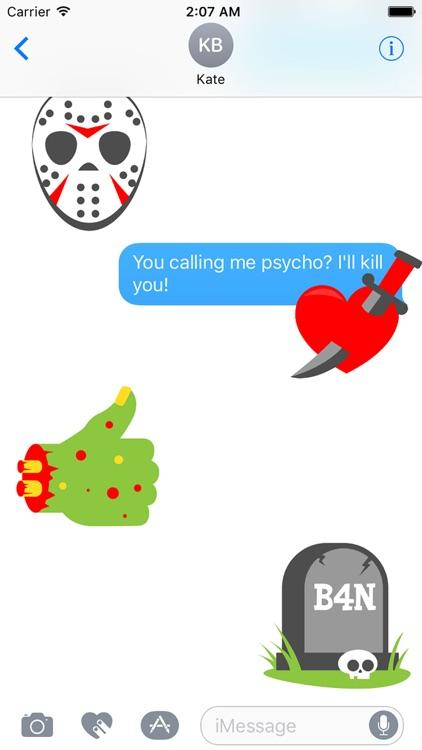 Halloween Gothic Sticker Pack screenshot-4
