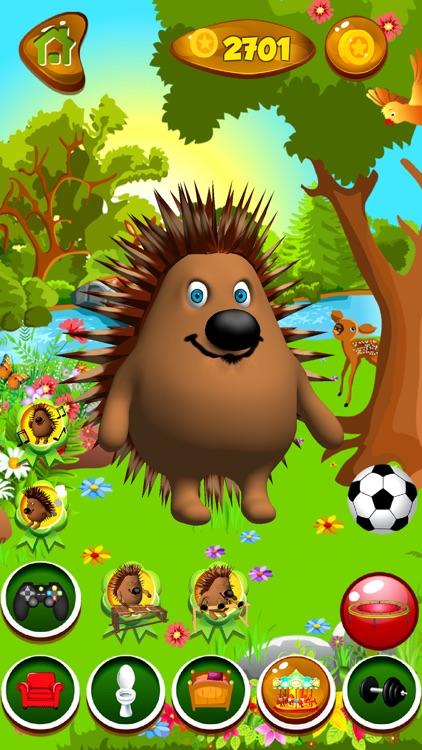 Talking Hedgehog screenshot-3