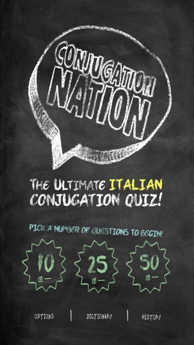 Conjugation Nation Italian screenshot one