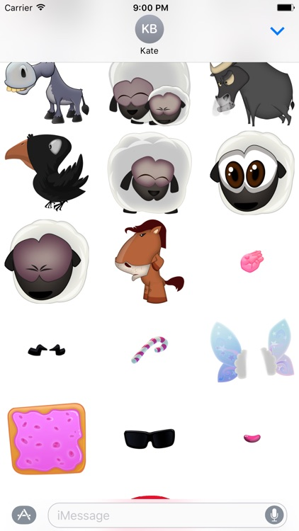 Hay Ewe - Farm friends sticker pack screenshot-0