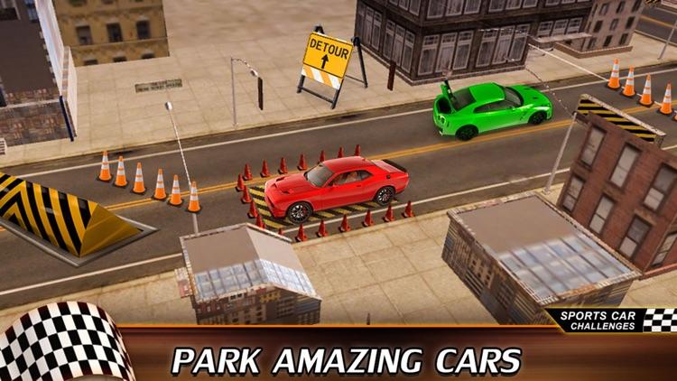 Drag Racing Speed Car 3D: Street CRS Park Bentely screenshot-3
