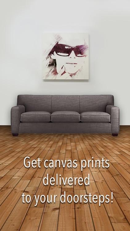 Artprint - Personalized Canvas Christmas Gift screenshot-0