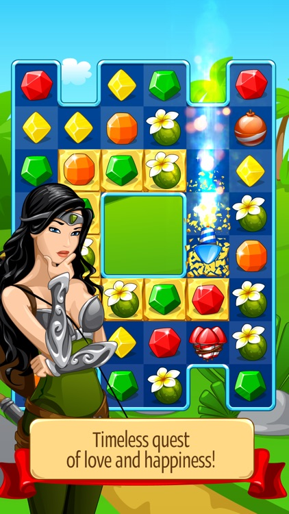 Knight Girl - Match 3 Puzzle screenshot-3