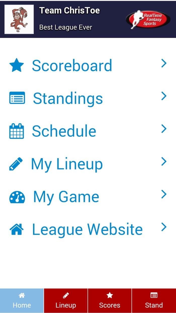 RTSports Screenshot