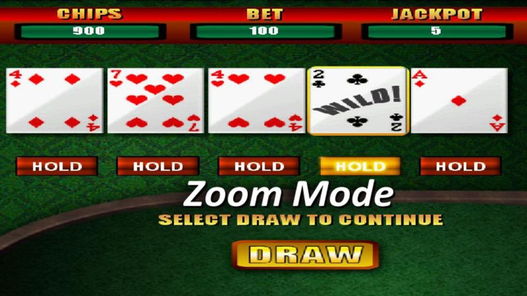Deuces Wild Casino Poker screenshot-3