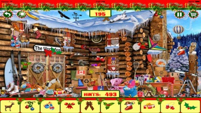 Christmas Hidden Objects 100 in 1