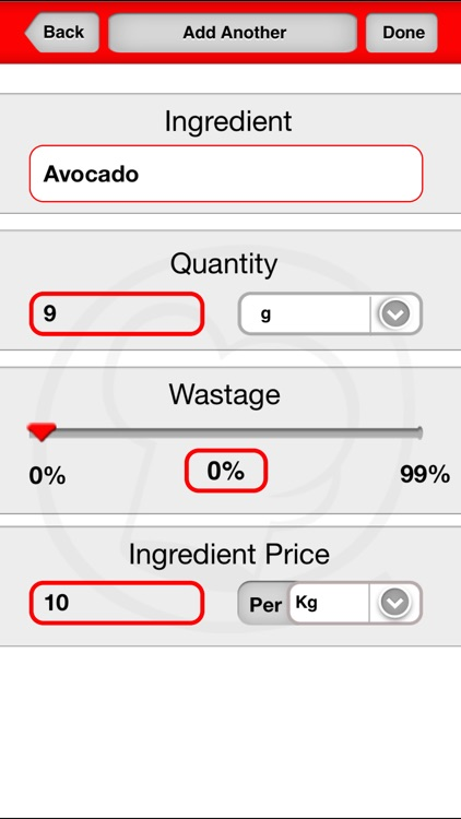 iChef Mobile screenshot-2