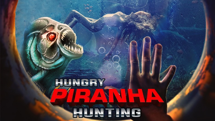 Hungry Piranha Hunting - Shark Spear-fishing world screenshot-0