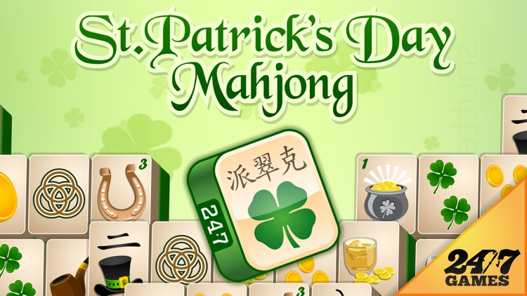 St. Patrick's Day Mahjong screenshot-0
