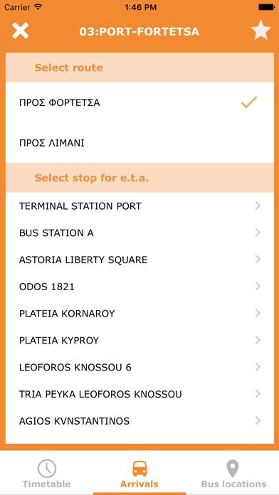 Iraklio City Bus screenshot two