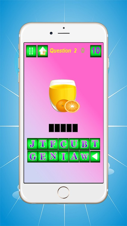 Learn Food English Spelling Word Game For Kids by somphob