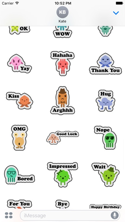 Monster Stickers screenshot-3