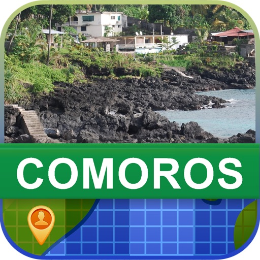 Offline Comoros Map - World Offline Maps