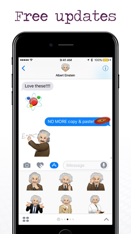 EinsteinMoji ™ by Albert Einstein screenshot-3