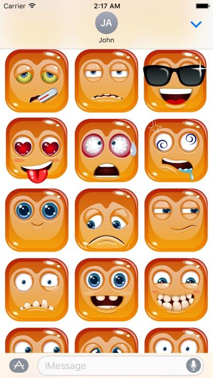 Emotion Cute Sticker Pack 02