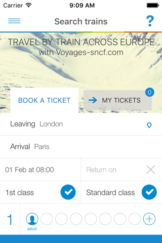 Voyages-sncf UK screenshot 4