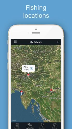 Fishing calendar lt best fishing bite times on the app for Fishing bite times